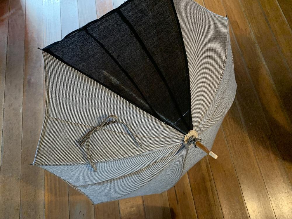 やっと自分用の日傘を仕上げた