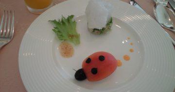 てんとう虫の前菜