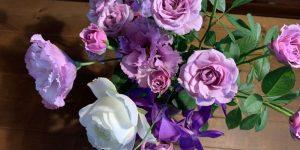 おすそ分けの花束