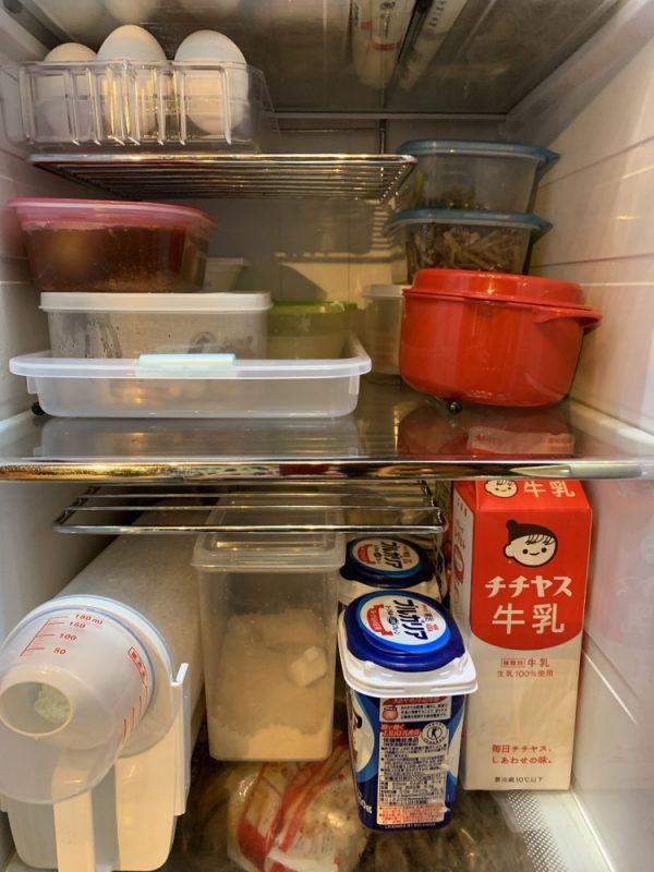 パノラマオープン冷蔵庫「アクア」に棚を増設