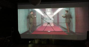 Iプロジェクタースクリーンとして買ったニトリのスクリーンで映画を