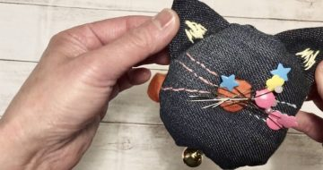 マグネット猫型針山