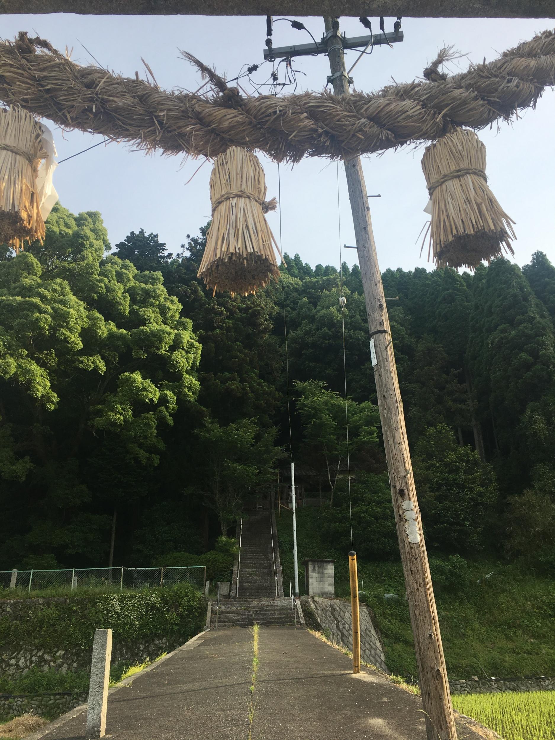 今朝の河内神社