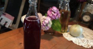 今年も紫蘇ジュース