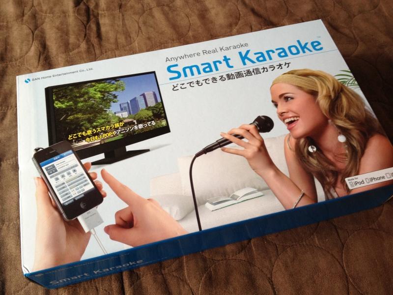 Smart Karaoke購入ヾ(@^▽^@)ノ ワーイ
