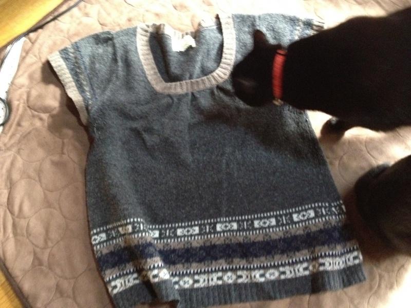 Bon courage!(ボン・クラージュ!) の福田さんが脱いで帰ったセーター