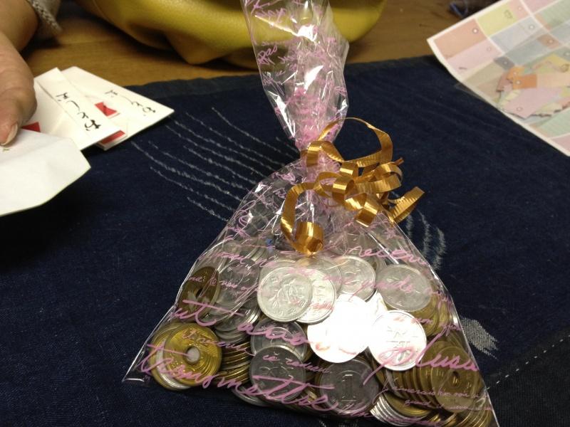 roseからケダマの会への支援金