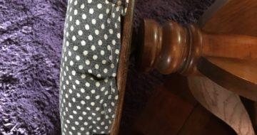 骨董級の椅子をリメイク
