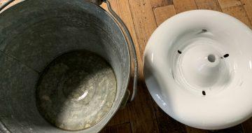 新旧の水分補給手段
