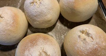 甘酒入りの白パン