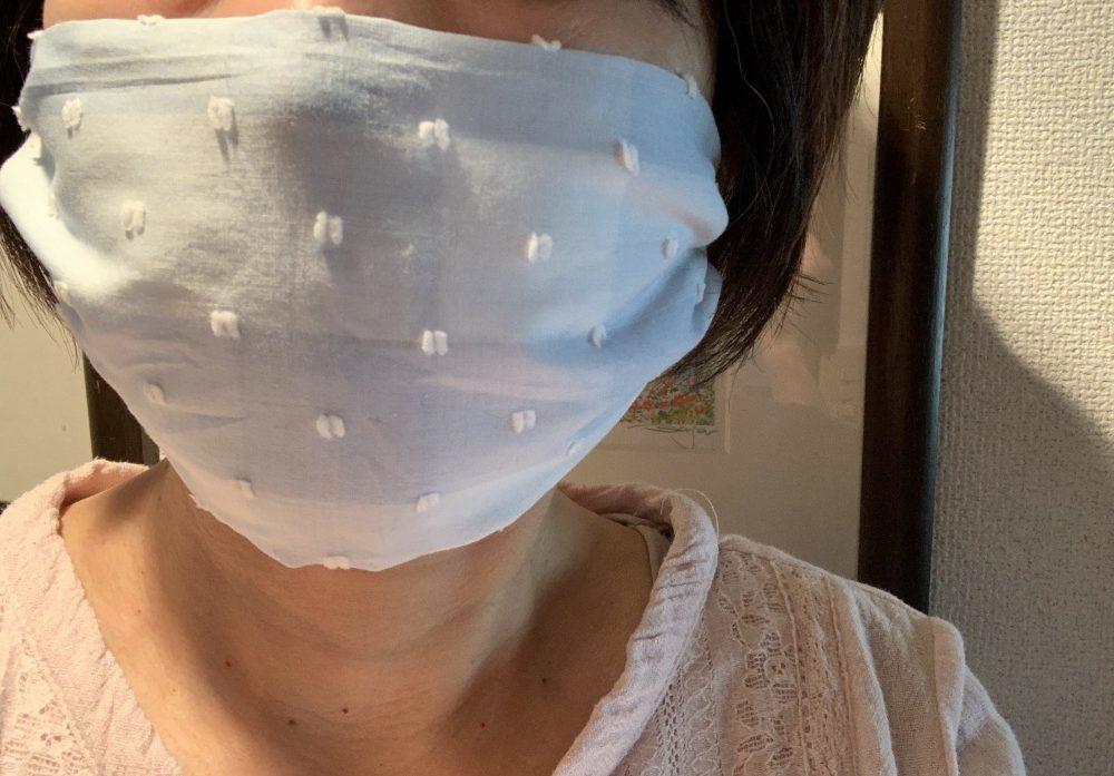 簡単!縫わないマスク