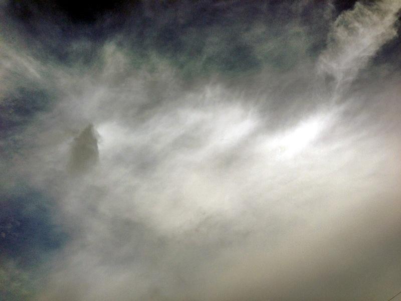 雨は上がった七夕の日の空3