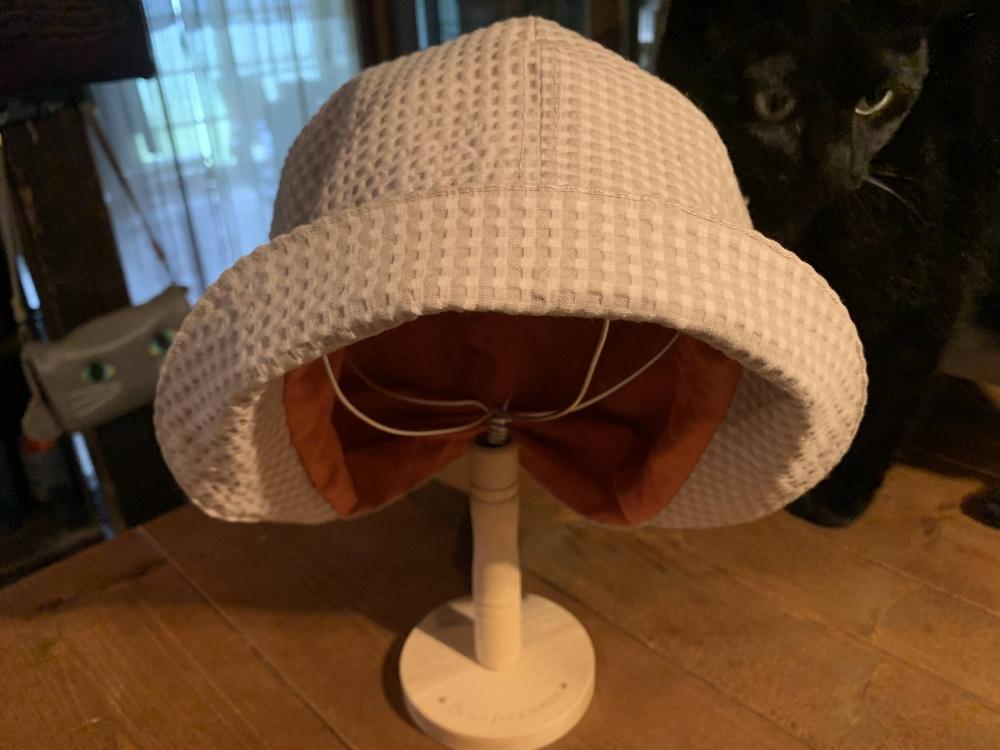 キャスケット風帽子