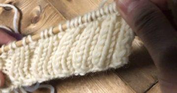 苦手なゴム編み止めを克服!