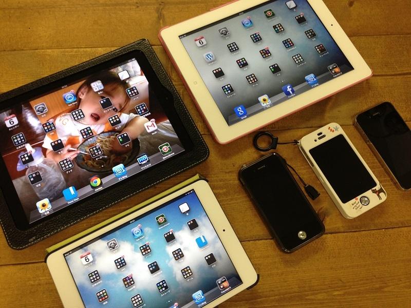 iPadとiPhone
