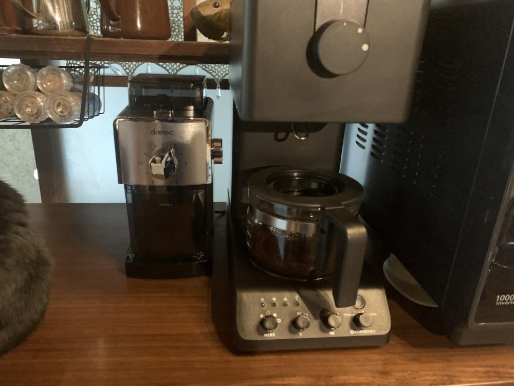 ドリテックのコーヒー豆グラインダー(ミル)CG-101BKDI