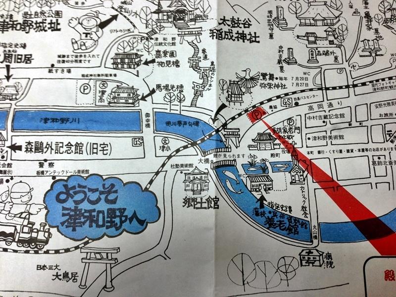 津和野マップ