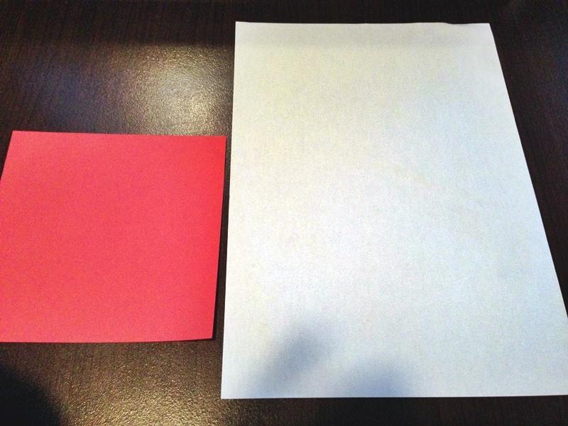 熨斗付きポチ袋の作り方1