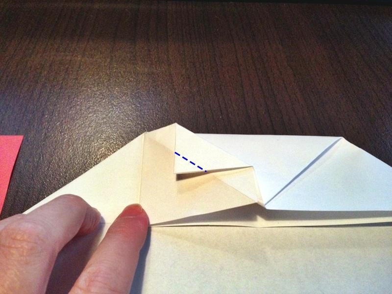 熨斗付きポチ袋の作り方13