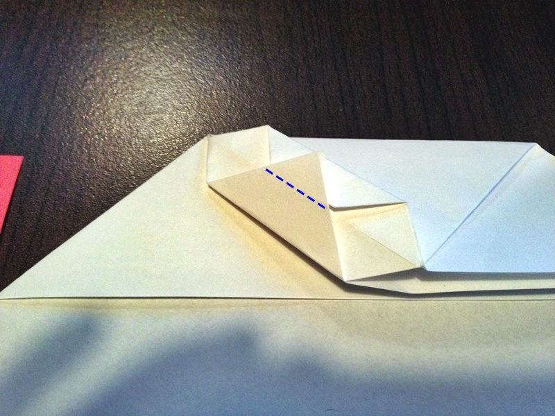 熨斗付きポチ袋の作り方16