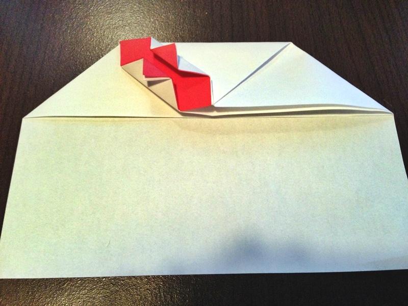 熨斗付きポチ袋の作り方21