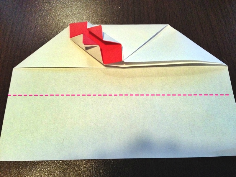 熨斗付きポチ袋の作り方22