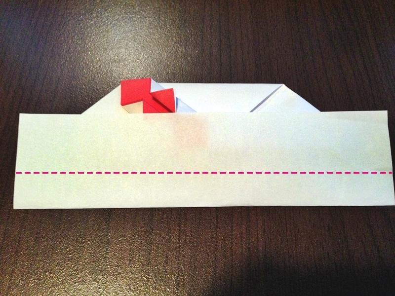 熨斗付きポチ袋の作り方24