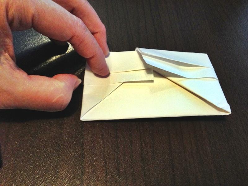 熨斗付きポチ袋の作り方29
