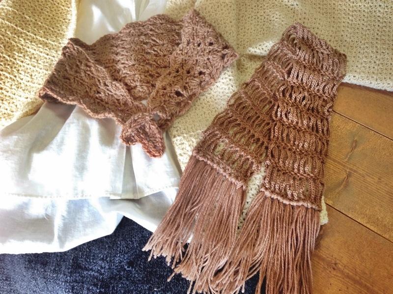 余り毛糸一玉で編める小物