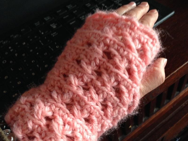 いもうと製の指なし手袋