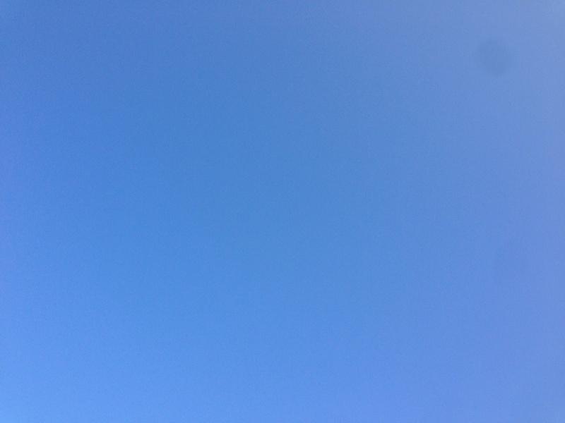 2月の青空