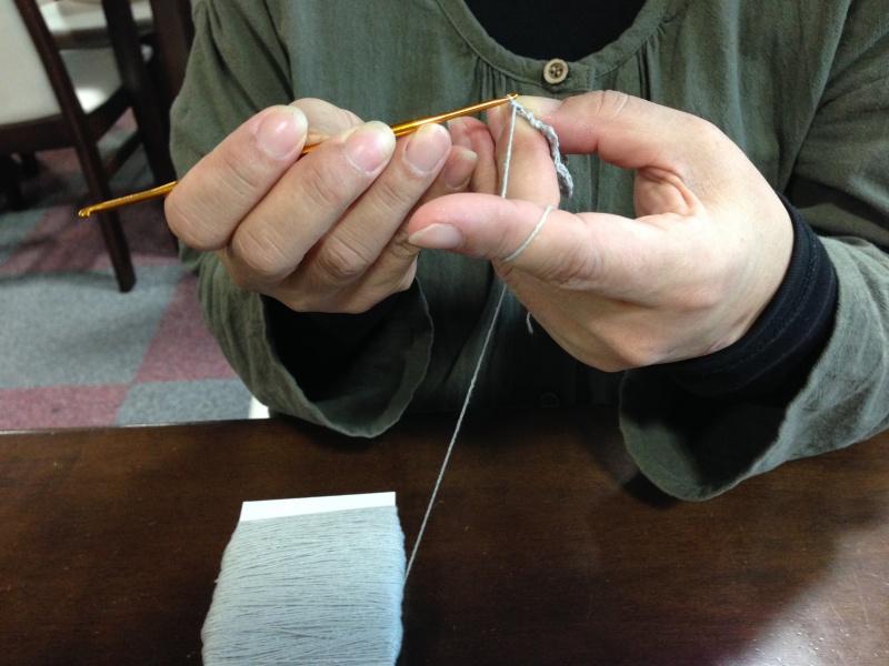 臨時編み物教室