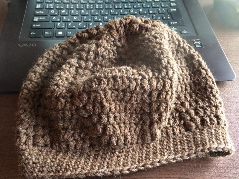 かぎ針編みベレー帽