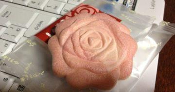 薔薇のお菓子